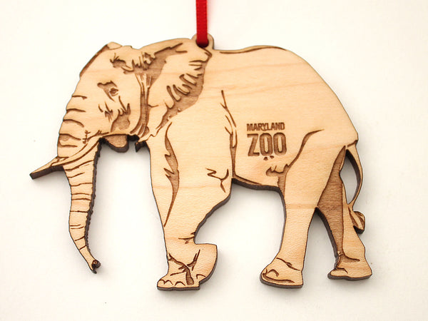 Maryland Zoo African Elephant Ornament