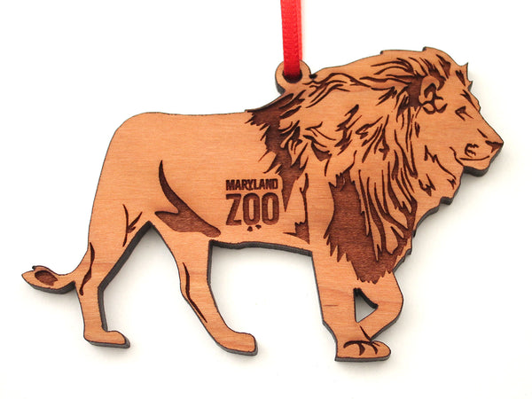 Maryland Zoo African Lion Ornament