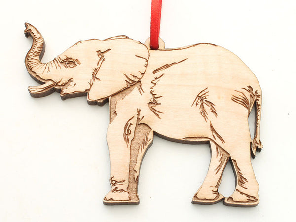 Seneca Park Zoo Trumpeting African Elephant Ornament
