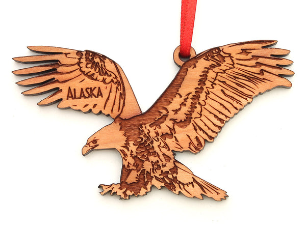 Alaska Bald Eagle Ornament