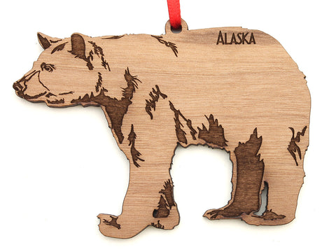 Alaska Black Bear Ornament