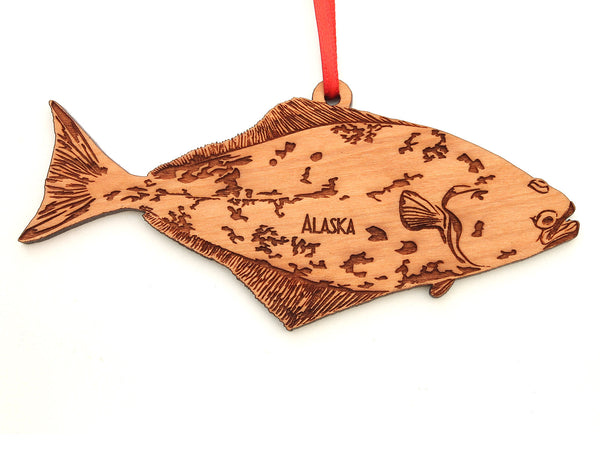 Alaska Halibut Ornament