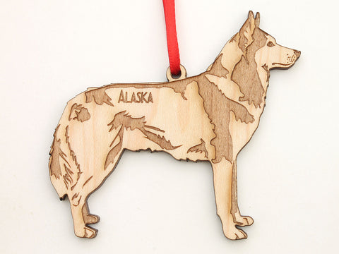 Alaska Husky Sled-dog Ornament