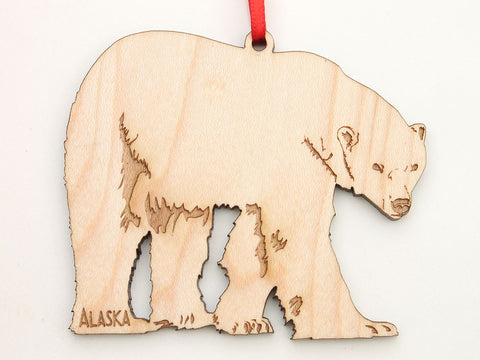 Alaska Polar Bear Ornament
