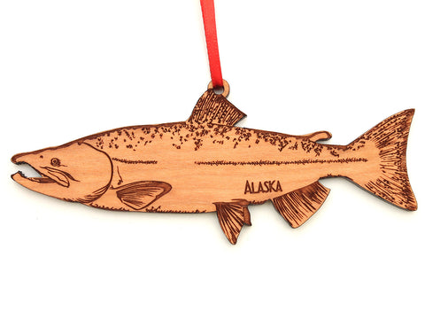 Alaska Salmon Ornament