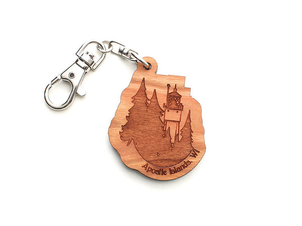 Apostle Island NLS Key Chain - Nestled Pines