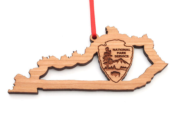 Arrowhead Store NPS Kentucky State Insert Ornament