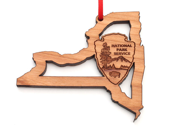 Arrowhead Store NPS New York State Insert Ornament
