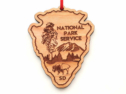 Black Hills National Forest Arrowhead Ornament