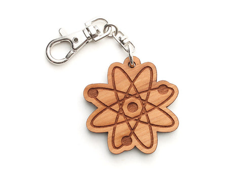 Atom Key Chain - Nestled Pines