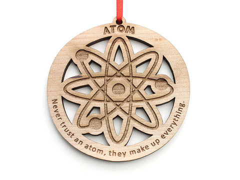 Atom Ornament Ornament - Nestled Pines
