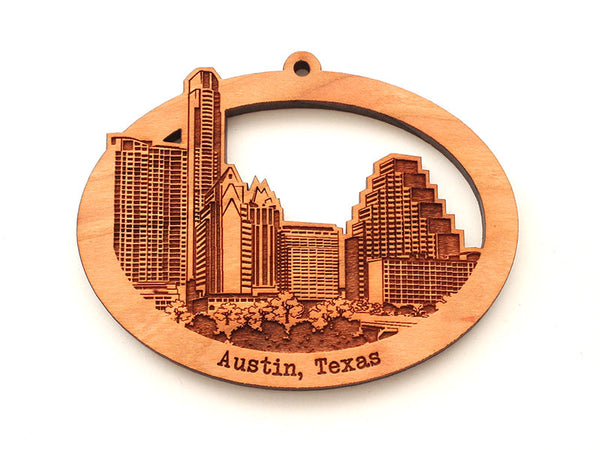 Austin Skyline Ornament