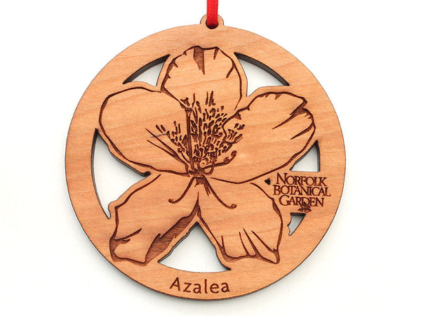 Norfolk Botanical Garden Azalea B Flower Ornament