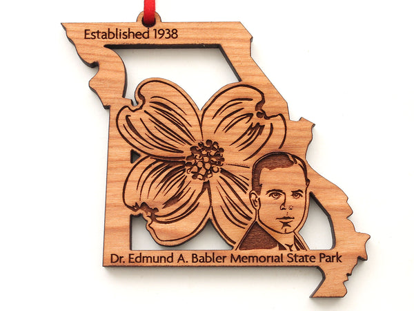 Babler Park Missouri Dogwood Flower Insert Ornament