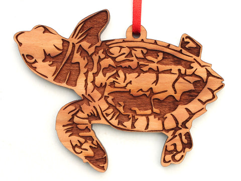 Baby Loggerhead Turtle Ornament