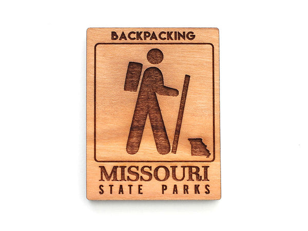 Missouri State Parks Backpacking Magnet