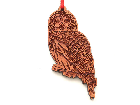 Barred Owl Ornament 2