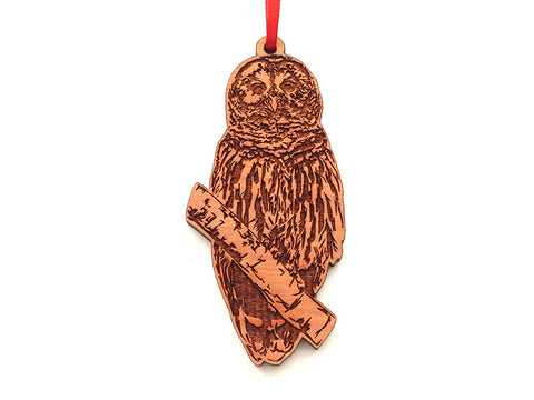 Barred Owl Ornament