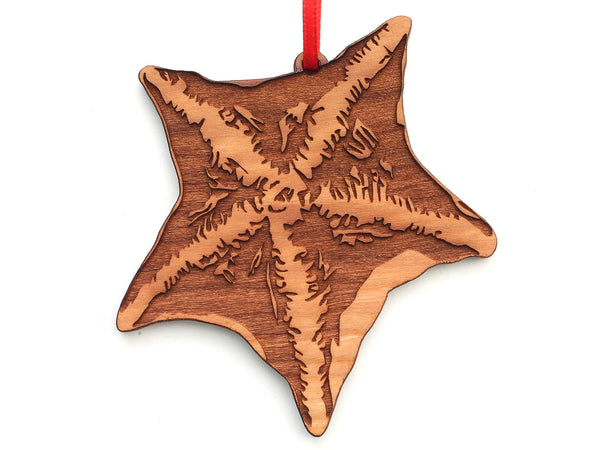 Bat Starfish Ornament