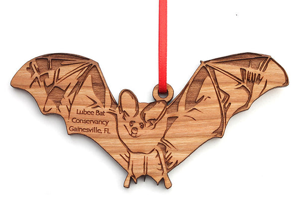Lubee Bat Conservatory Brown Bat Custom Ornament