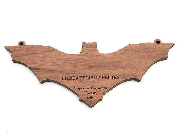 Superior National Forest Bat Ornament