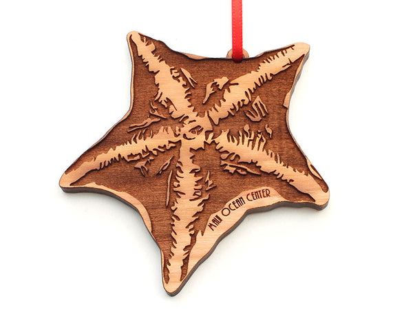 Maui Ocean Center Bat Starfish Ornament