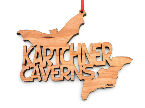 Kartchner Caverns Text Ornament (LOOSE) - Nestled Pines