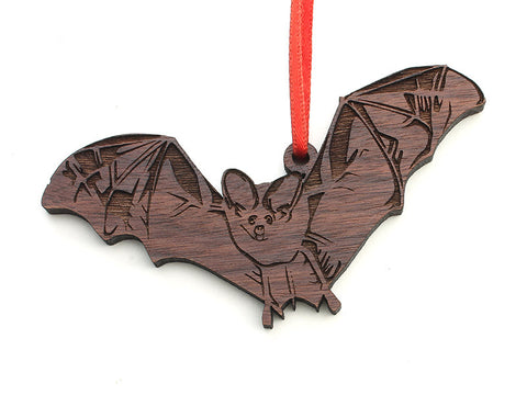 Brown Bat Ornament - Nestled Pines