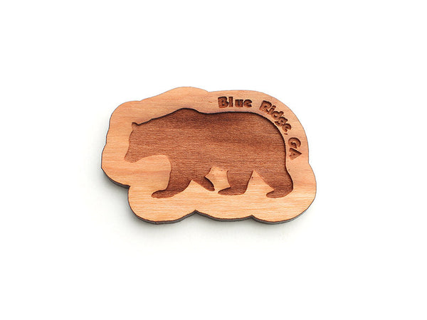 Blue Ridge Bear Magnet Ornament - Nestled Pines