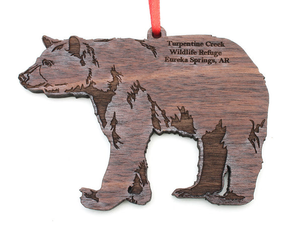 Turpentine Creek Black Bear Ornament