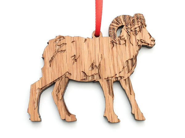 Bighorn Sheep Ornament - Nestled Pines