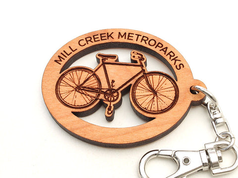 Mill Creek Bike Key Chain