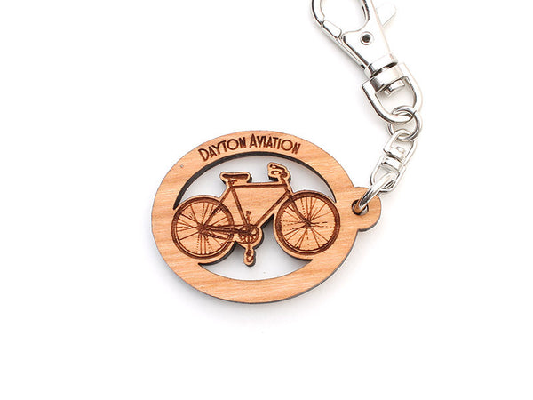 Dayton Aviation Van Cleve Bicycle Custom Key Chain - Nestled Pines