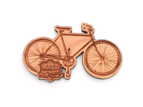 Katy Depot Custom Bike Magnet - Nestled Pines