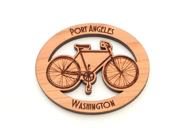 Port Book and News Bicycle Magnet