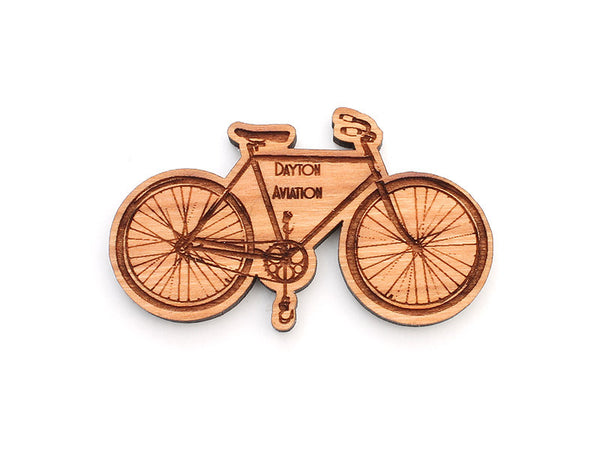 Dayton Aviation Van Cleve Bicycle Magnet - Nestled Pines