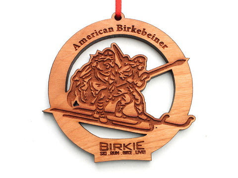 Birkie Circle Ornament - Nestled Pines