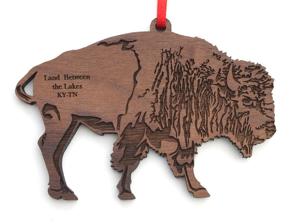 Land Between the Lakes Bison Ornament