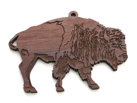 Bison Ornament - Nestled Pines