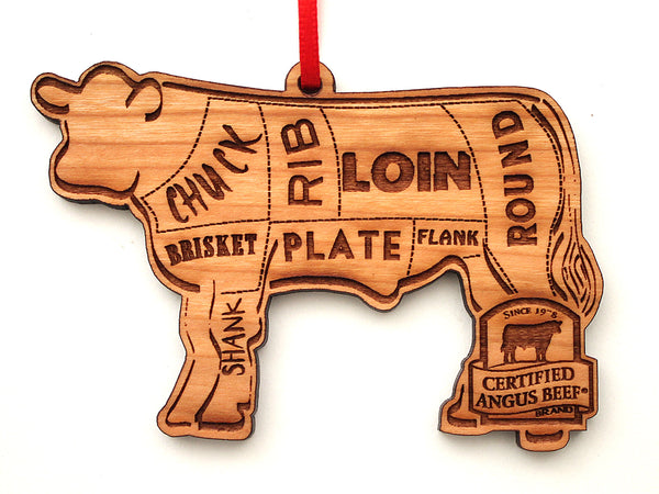 Certified Angus Beef Cuts Ornament