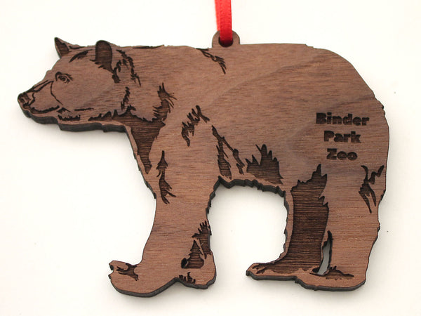 Binder Park Zoo Black Bear Ornament