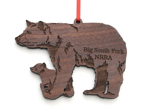 Big South Fork Black Bear Cub Ornament - Nestled Pines