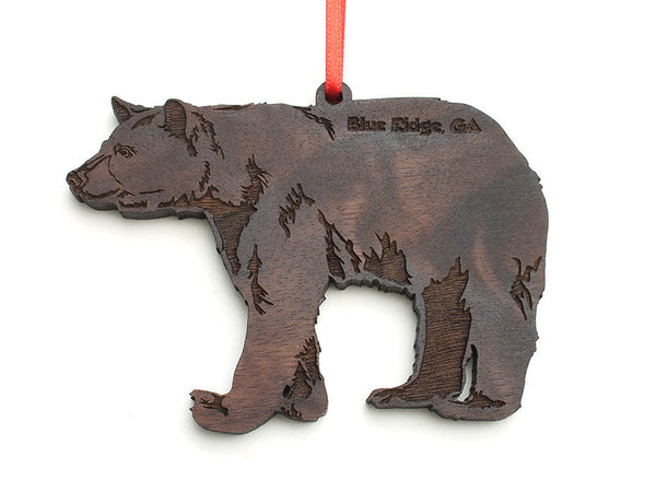 Blue Ridge Black Bear Ornament - Nestled Pines