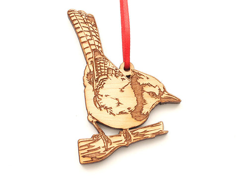 Blue Jay Ornament 2