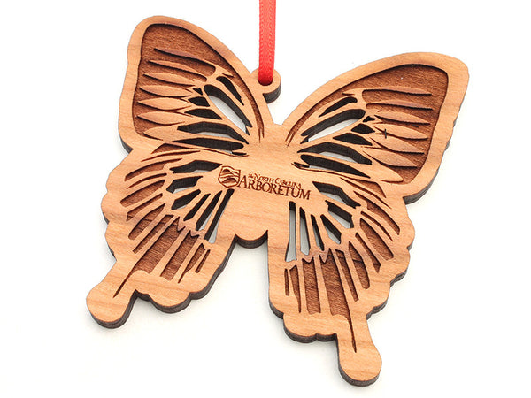North Carolina Arboretum Blue Mountain Swallowtail Butterfly Ornament