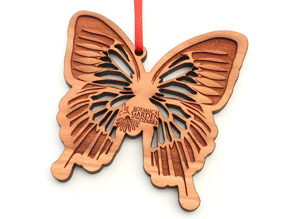 Botanical Garden of the Ozarks Blue Mountain Swallowtail Butterfly Ornament