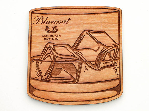 Bluecoat Lowball Rocks Coaster Set of 4