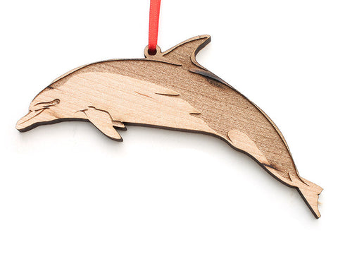 Bottlenose Dolphin Ornament - Nestled Pines