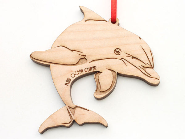Maui Ocean Center Bottlenose Dolphin Ornament