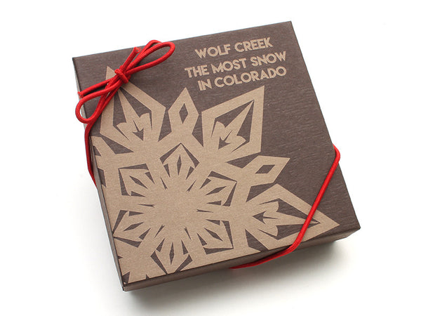 Wolf Creek Snowflake Gift Box - Nestled Pines - 2